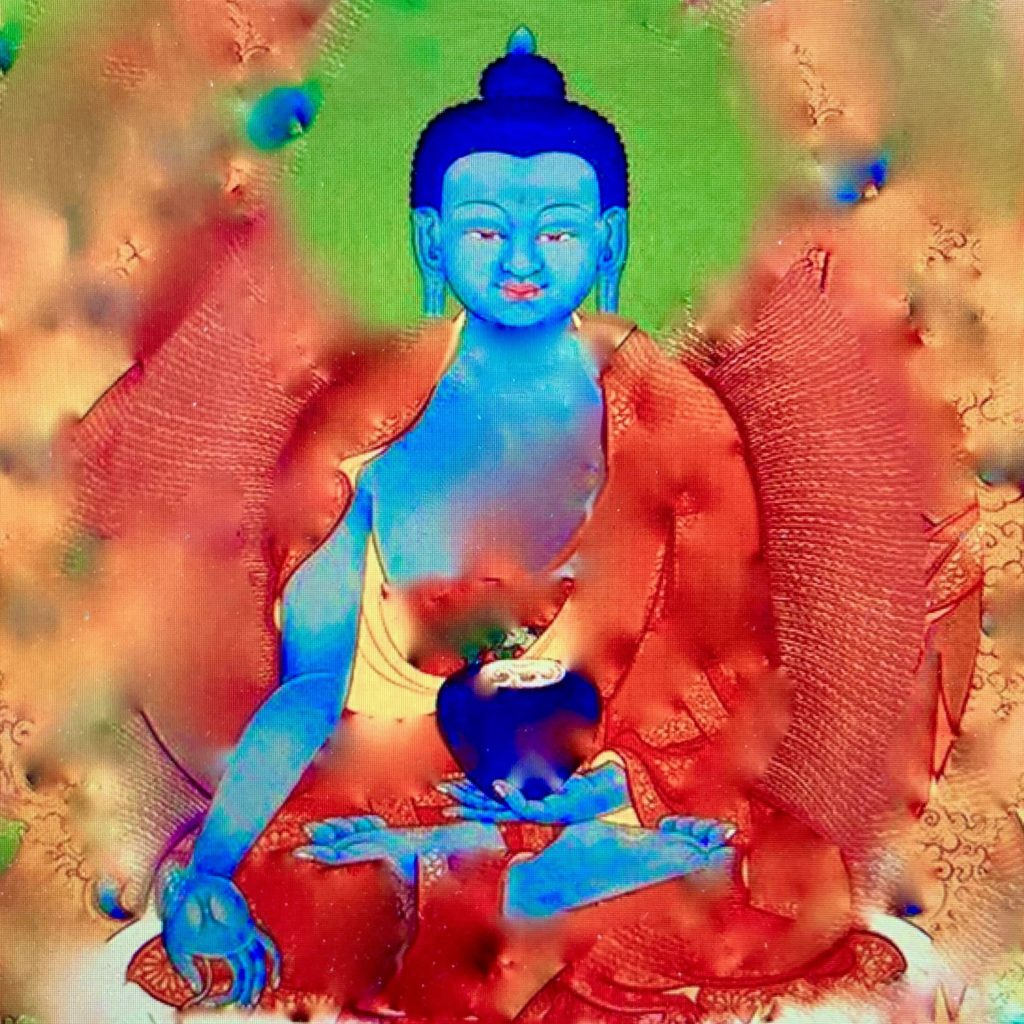 The Blue Medicine Buddha